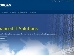 Nueva web de Europea IT