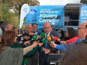 Cobertura de medios para el inicio de la campaña #QuieroCorredor