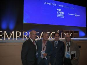 Javier Sánchez Rojas, presidente de la CEC, designado por cuarto año consecutivo como la personalidad más influyente en la provincia de Cádiz