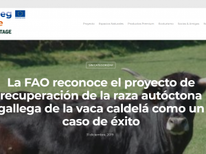 Comunicación digital del Proyecto Bioheritage