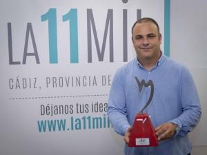 Organización de la ceremonia del Premio de La 11Mil Cádiz en Madrid