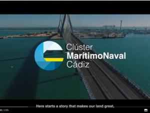 Vídeo corporativo del CLÚSTER MARITIMO NAVAL DE CADIZ.
