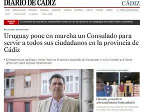 Asistencia técnica al Consulado de la República Oriental del Uruguay en Cádiz, Ceuta y Melilla